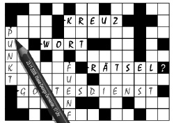 KREUZ WORT R&auml;tsel